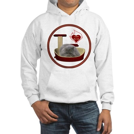 Cat #9 Hooded Sweatshirt