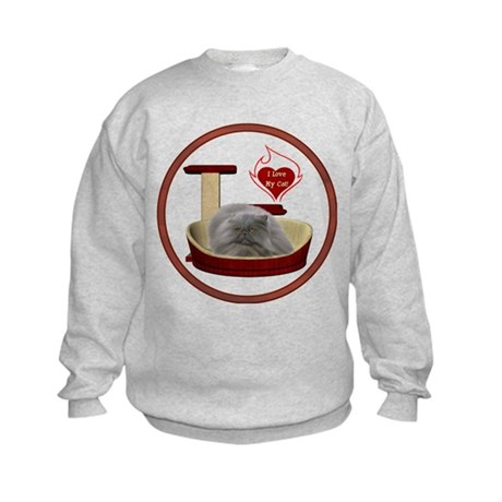Cat #9 Kids Sweatshirt