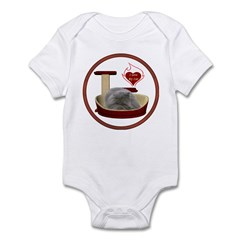 Cat #9 Infant Bodysuit