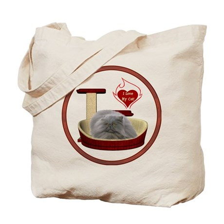 Cat #9 Tote Bag