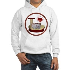 Cat #10 Hooded Sweatshirt