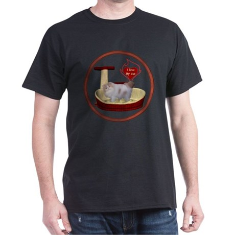Cat #10 Dark T-Shirt