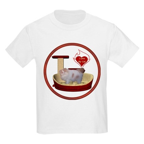 Cat #10 Kids Light T-Shirt