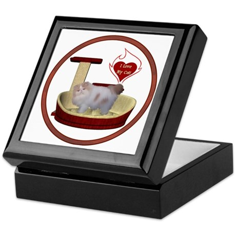 Cat #10 Keepsake Box