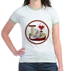 Cat #11 Jr. Ringer T-Shirt