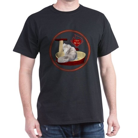 Cat #11 Dark T-Shirt