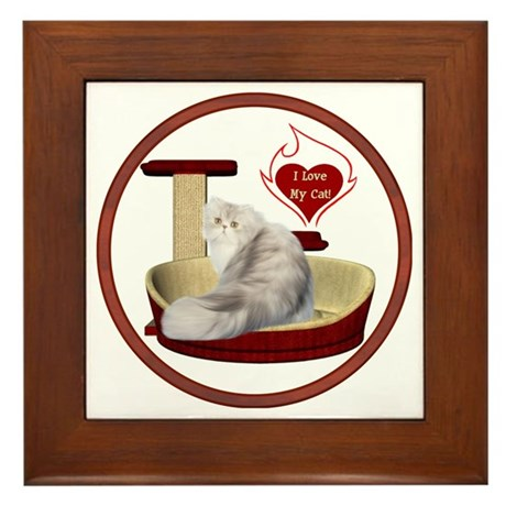 Cat #11 Framed Tile