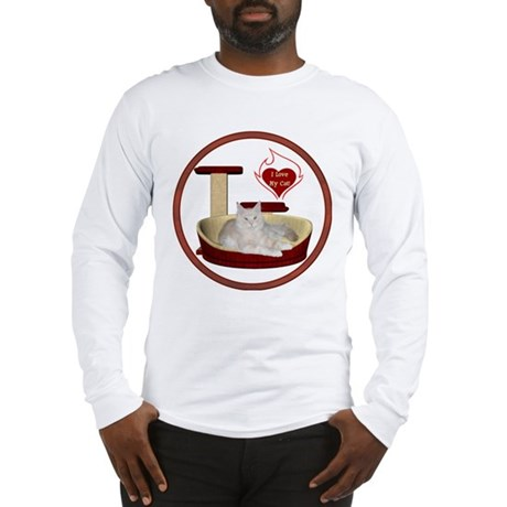 Cat #12 Long Sleeve T-Shirt