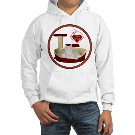 Cat #12 Hooded Sweatshirt