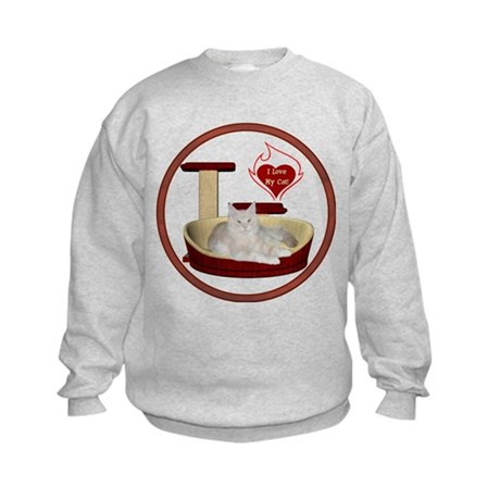 Cat #12 Kids Sweatshirt