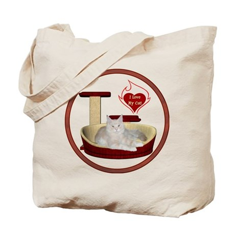 Cat #12 Tote Bag