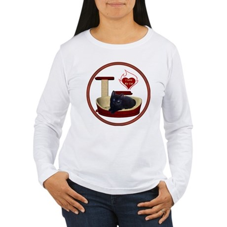 Cat #13 Women's Long Sleeve T-Shirt