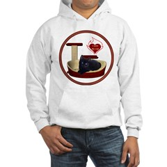 Cat #13 Hooded Sweatshirt