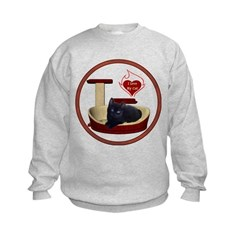 Cat #13 Kids Sweatshirt