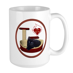 Cat #13 Large Mug