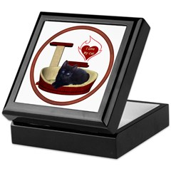 Cat #13 Keepsake Box