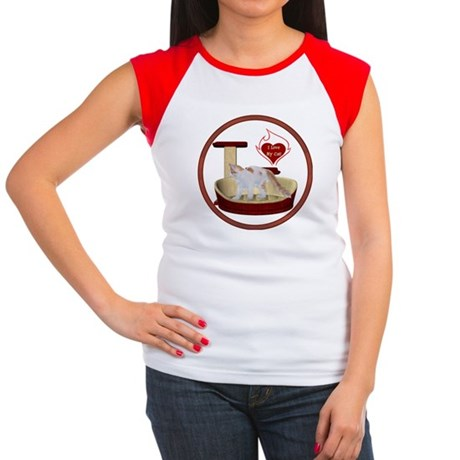 Cat #14 Women's Cap Sleeve T-Shirt