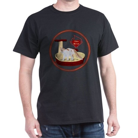 Cat #14 Dark T-Shirt
