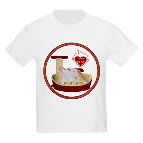 Cat #14 Kids Light T-Shirt