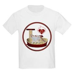 Cat #14 Kids Light T-Shirt