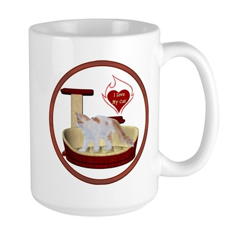 Cat #14 Large Mug