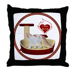 Cat #14 Throw Pillow