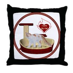 Cat #14 Throw Pillow