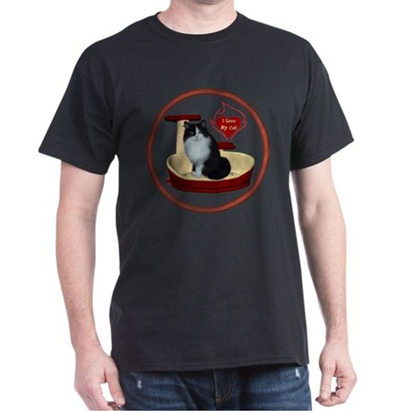 Cat #15 Dark T-Shirt