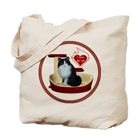 Cat #15 Tote Bag