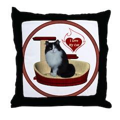 Cat #15 Throw Pillow