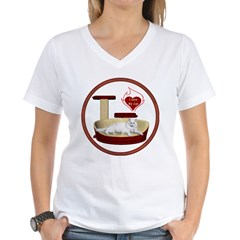 Cat #16 Women's V-Neck T-Shirt