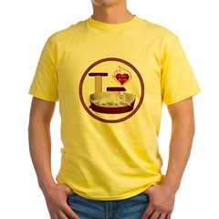 Cat #16 Yellow T-Shirt