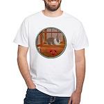 Bunny #1 White T-Shirt
