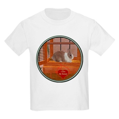 Bunny #1 Kids Light T-Shirt