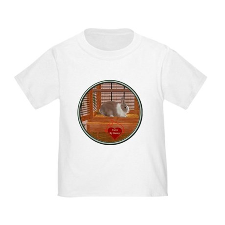 Bunny #1 Toddler T-Shirt