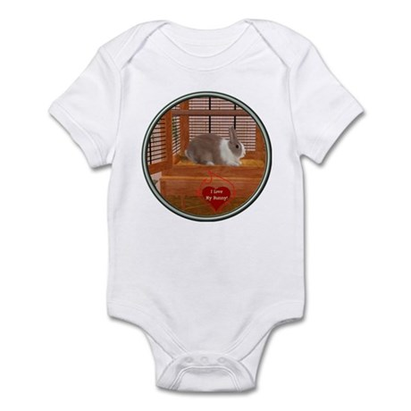 Bunny #1 Infant Bodysuit