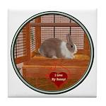Bunny #1 Tile Coaster