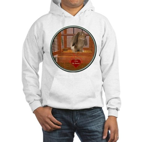 Bunny #2 Hooded Sweatshirt