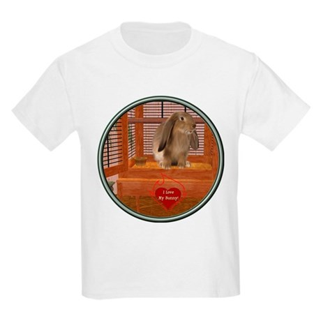 Bunny #2 Kids Light T-Shirt