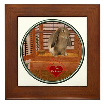 Bunny #2 Framed Tile