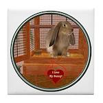 Bunny #2 Tile Coaster