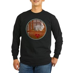 Bunny #3 Long Sleeve Dark T-Shirt