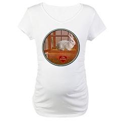 Bunny #3 Maternity T-Shirt