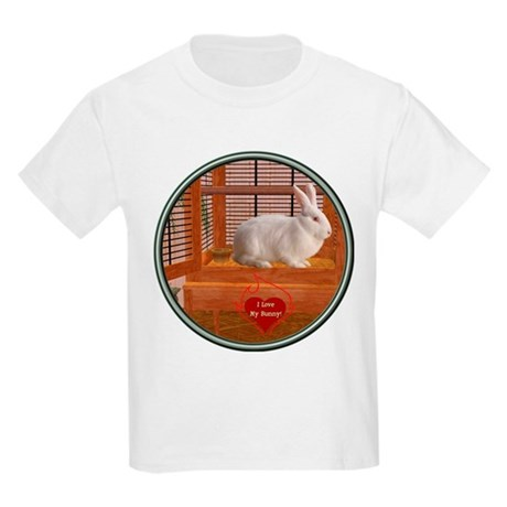 Bunny #3 Kids Light T-Shirt