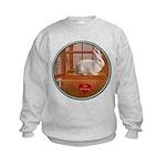Bunny #3 Kids Sweatshirt