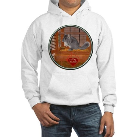 Chinchilla #1 Hooded Sweatshirt
