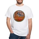 Chinchilla #1 White T-Shirt