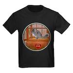 Chinchilla #1 Kids Dark T-Shirt