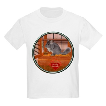 Chinchilla #1 Kids Light T-Shirt