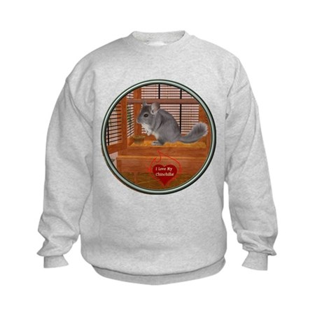Chinchilla #1 Kids Sweatshirt